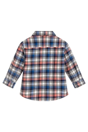 Mayoral L/s Checked Flannel - Front full body