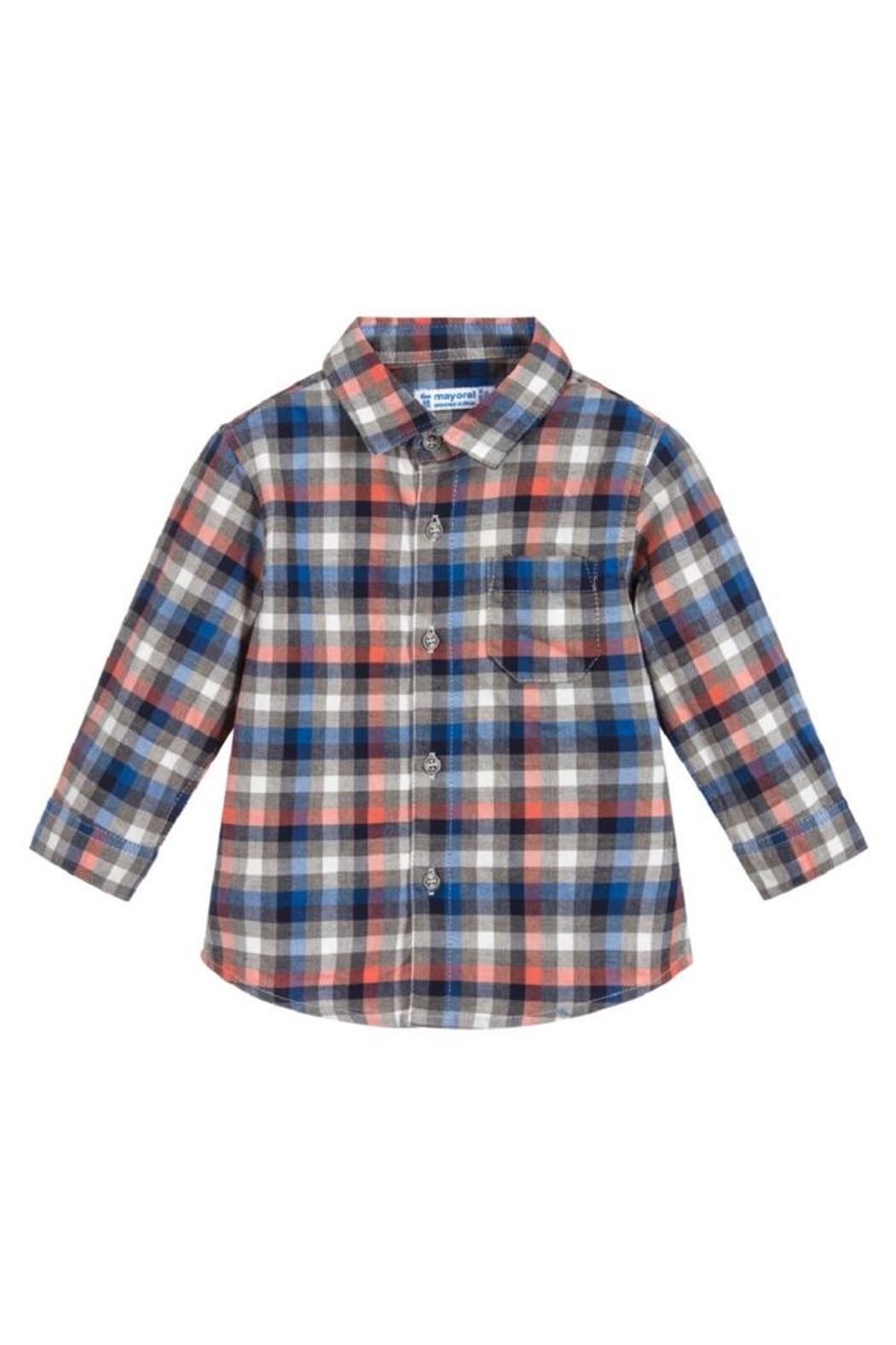 Mayoral L/s Checked Flannel - Main Image
