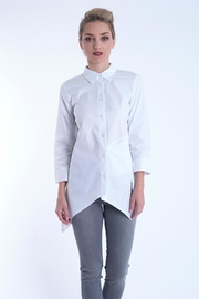 B&K moda Long Sleeve Cotton Shirt - Product Mini Image