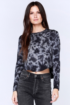Shoptiques Product: L/S Crewneck Crop Top