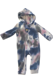 Cozii L/S Hooded Zip Front Coverall - Product Mini Image