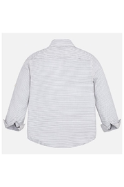Mayoral L/s Poplin Shirt - Front full body