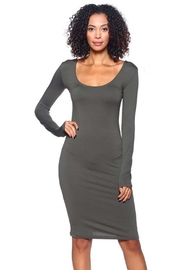 Capella Apparel L/s Scoop Dress - Front cropped