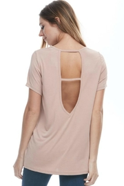 L Fashion Overload Open Back Top - Front full body