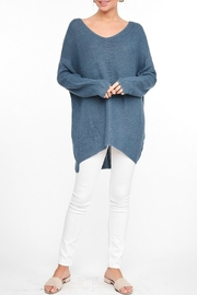 L Love Longsleeve Knit Tunic - Other