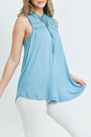 L Love Turquoise Top - Other