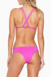 L SPACE Becky Triangle Top - Front full body