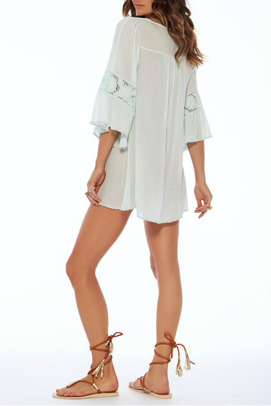 L SPACE Breakaway Coverup - Back Cropped Image