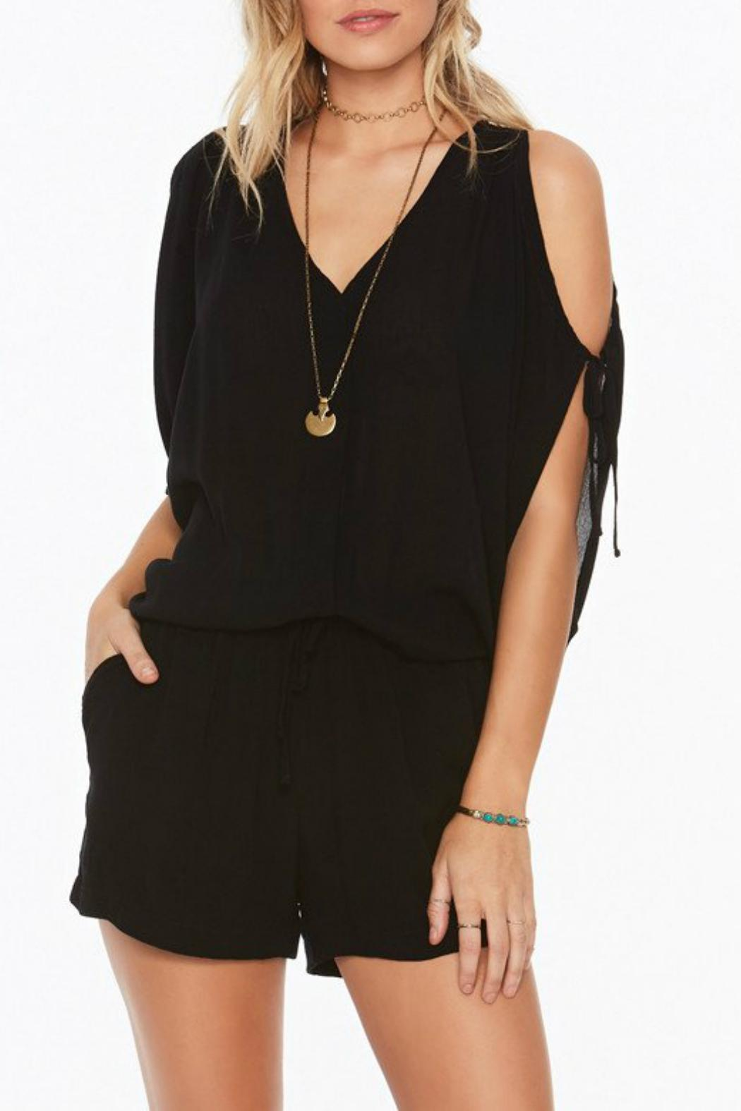 L SPACE Daylight Romper - Back Cropped Image