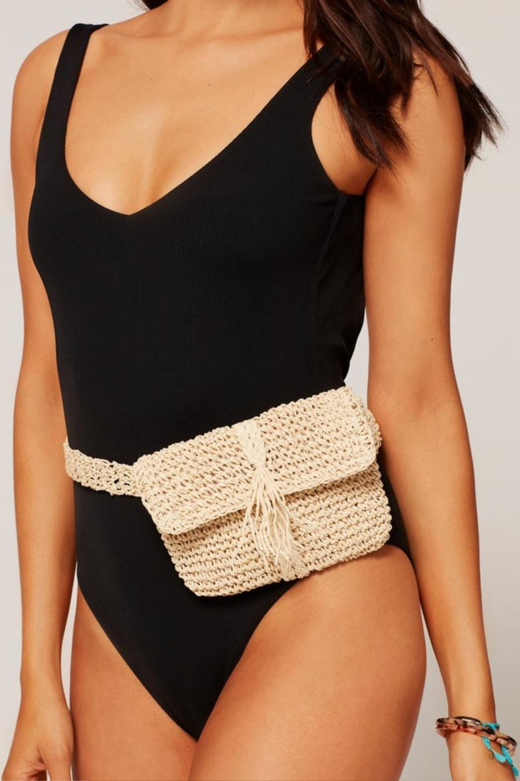 L SPACE Debby Fanny Pack - Side Cropped Image