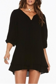 L SPACE Black Light Dress - Front cropped