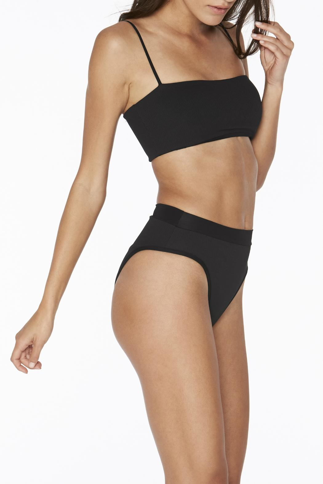 L SPACE Frenchi High Waist Bottom - Front Full Image