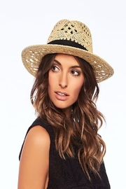 L SPACE Jet Setter Hat - Front cropped
