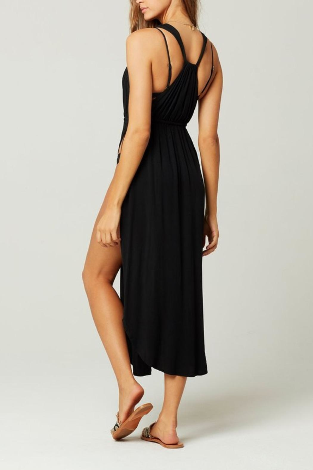L SPACE Kenzie Cover-Up Slit-Dress - Front Full Image