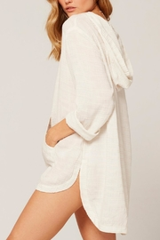 L SPACE Love Letters Tunic - Front full body