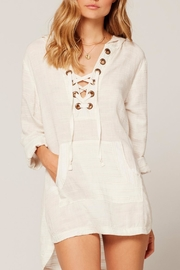 L SPACE Love Letters Tunic - Front cropped
