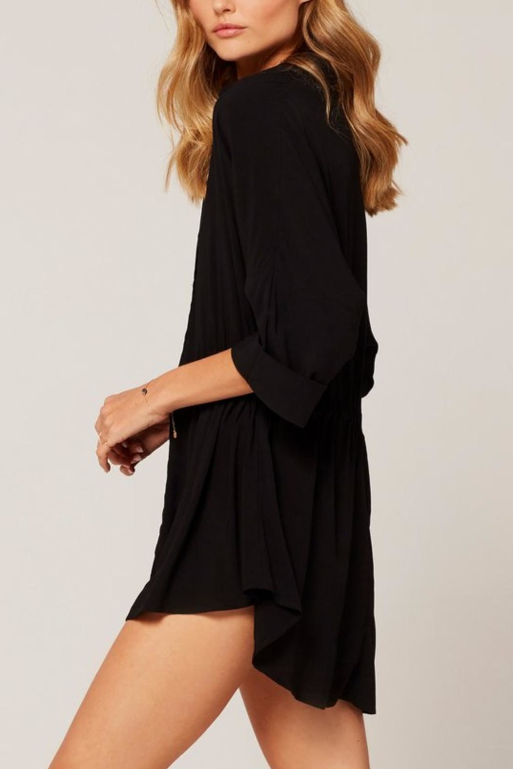 L SPACE Pacifica Button-Down Tunic - Front Full Image