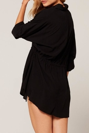 L SPACE Pacifica Button-Down Tunic - Side cropped