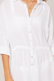 L SPACE Pacifica Button-Down Tunic - Other