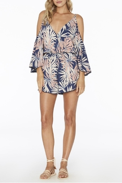 L SPACE Polynesian Palm Soho Romper - Product List Image