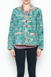 LA Blend Teal Reversible Jacket - Product Mini Image