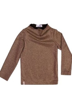 Shoptiques Product: La Galette Metallic Top for Girls