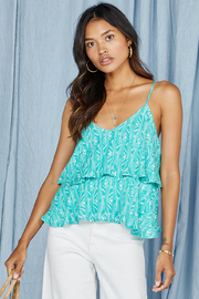 SAGE THE LABEL La Mer Layered Tank - Front cropped