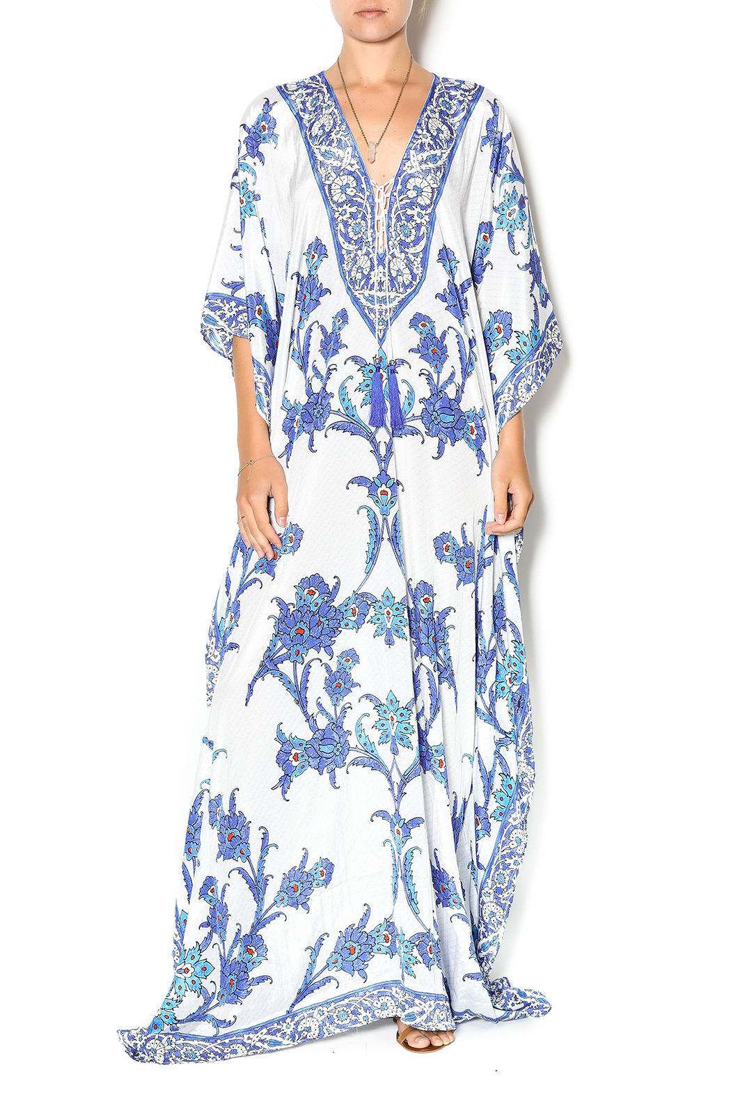 12587f079ee83 La Moda Maxi Kaftan Dress from Palm Beach by Glitz and Glam Boutique ...