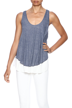 Shoptiques Product: Blue White Tank