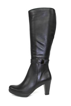 La Canadienne High Heeled Black Boot - Product List Image