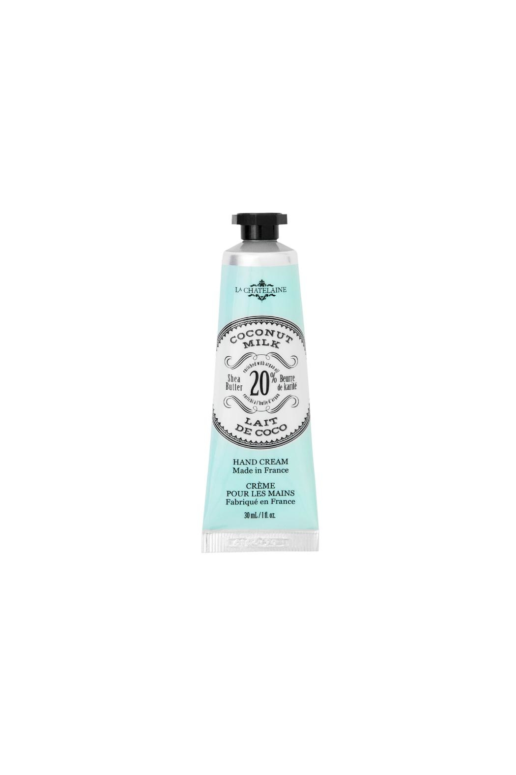 La Chatelaine Coconut Hand Cream - Front Cropped Image
