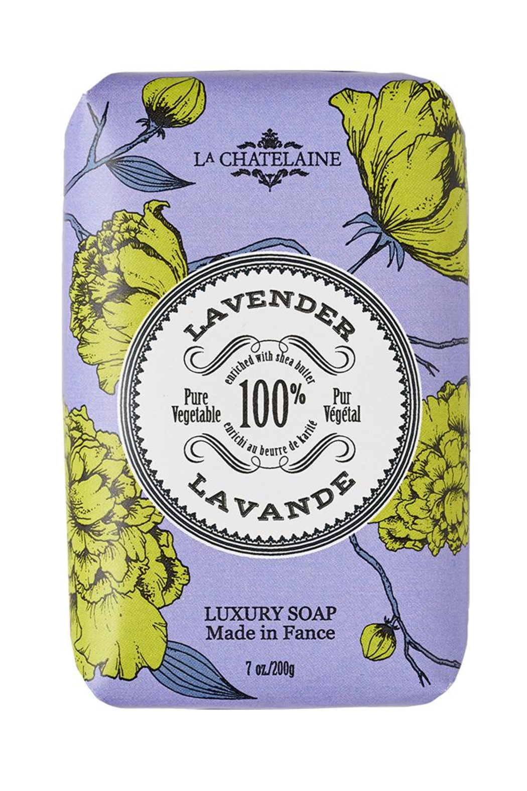 La Chatelaine Lavender Luxury Soap - Main Image