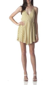 Shoptiques Product: Geo V-Neck Dress