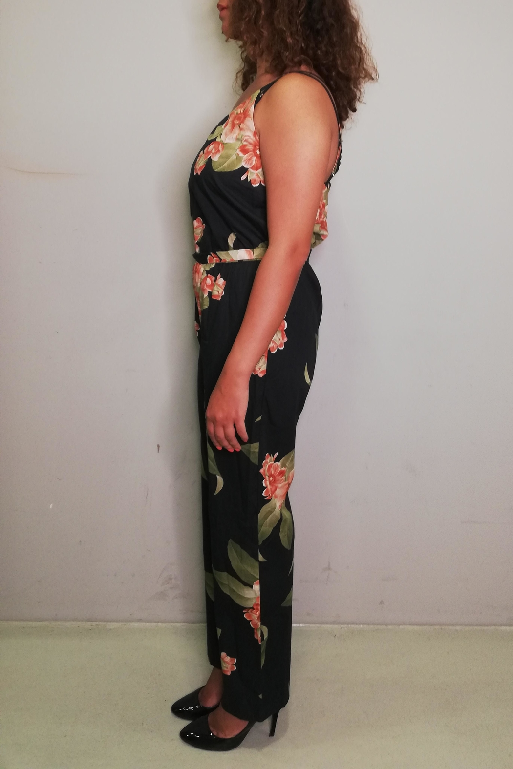La Fee Maraboutee Floral Jumpsuit - Front Full Image