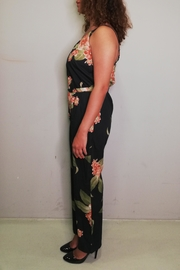 La Fee Maraboutee Floral Jumpsuit - Front full body