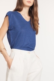 La Fee Maraboutee Linen Tee - Product Mini Image
