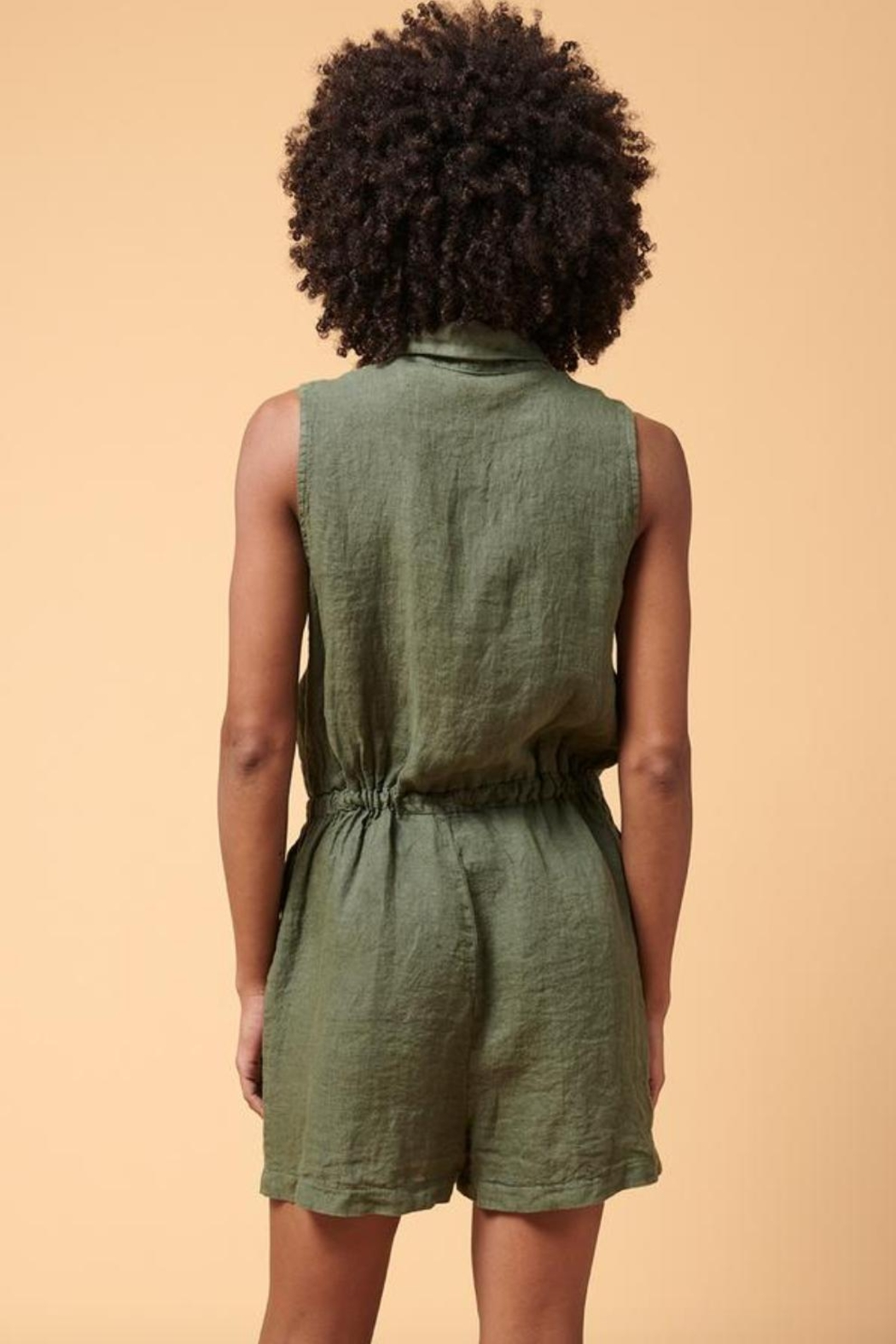 La Fee Maraboutee Short Jumpsuit - Side Cropped Image