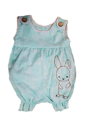 La Jenns Baby-Girl Embroidered-Bunny Romper - Product Mini Image