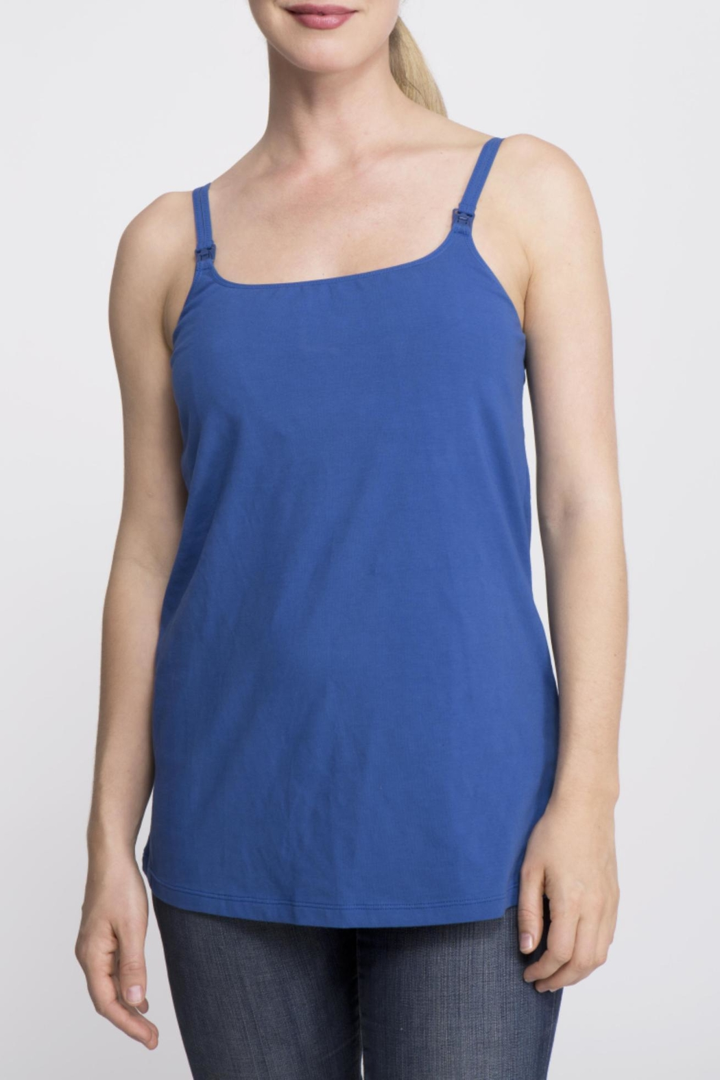 La Leche League International Casual Sleeveless Nursing Top - Front Cropped Image