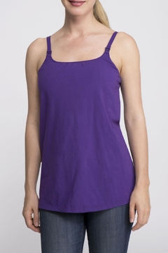 Shoptiques Product: Casual Sleeveless Nursing Top