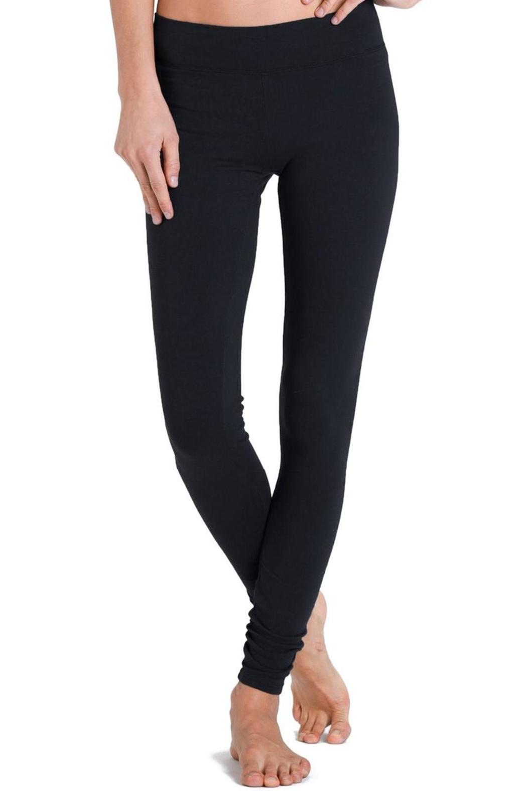 LA Made Black Basic Leggings - Main Image