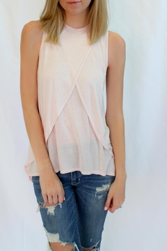 Shoptiques Product: Blush Pink Sleeveless Top
