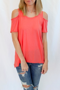 Shoptiques Product: Coral Long Top