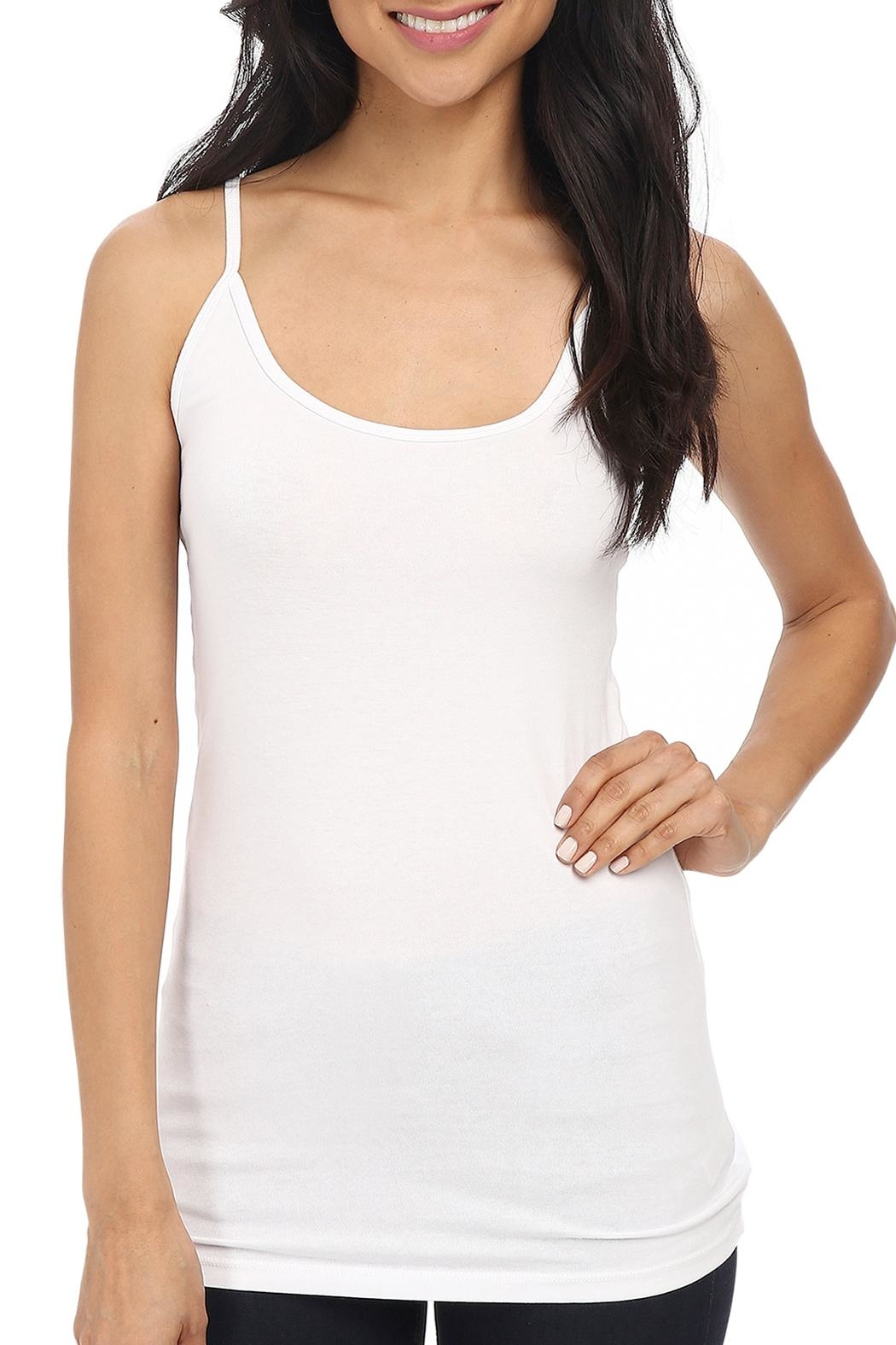 LA Made Deep Scoop Cami - Front Cropped Image