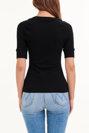 LA Made Fitz Crew Top - Side cropped