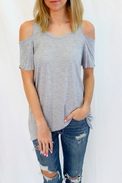 Shoptiques Product: Casual Grey Long Top
