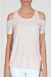 LA Made Jana Cold Shoulder Top - Product Mini Image