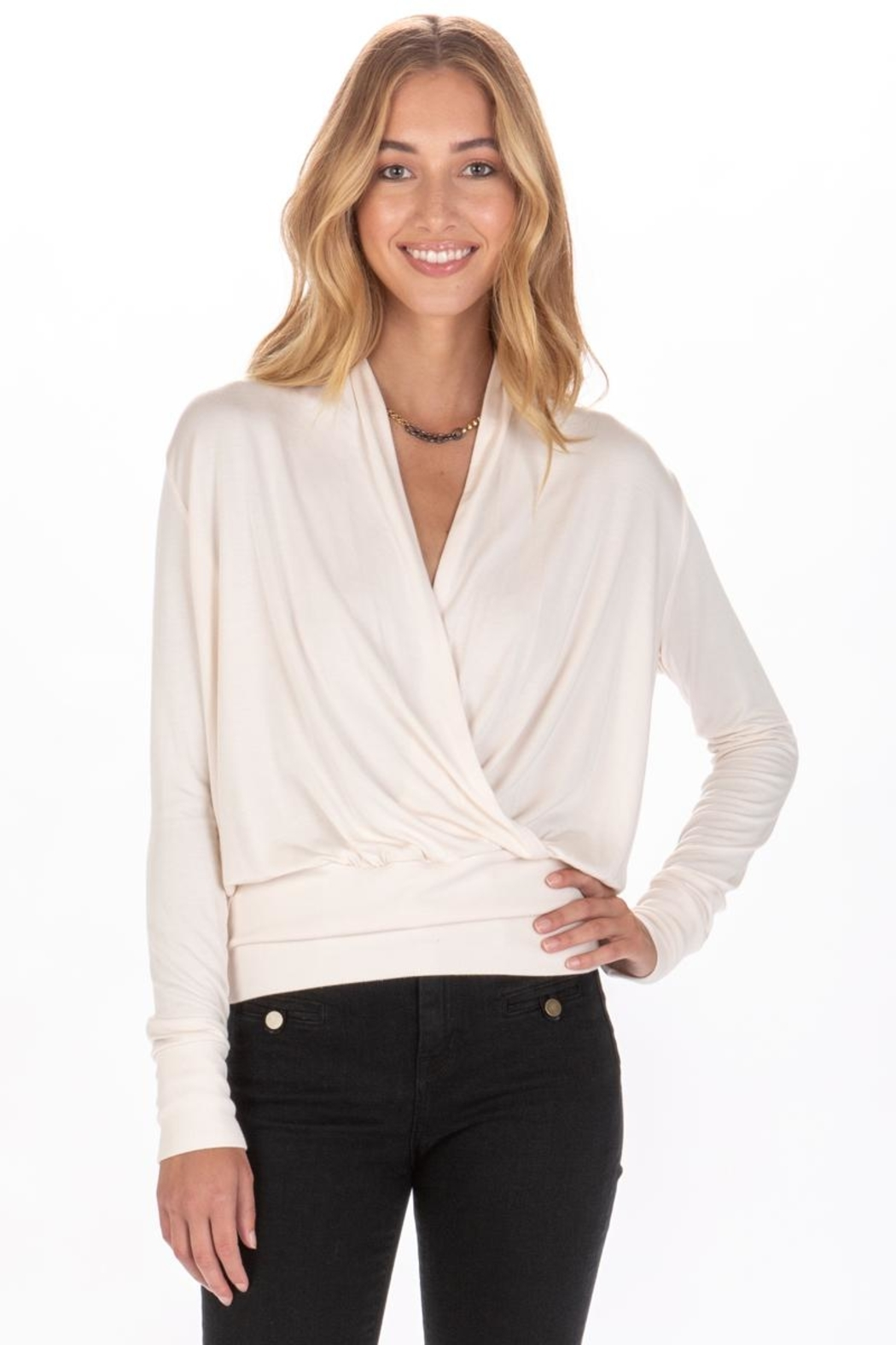 LA Made Victorie Top - Front Full Image