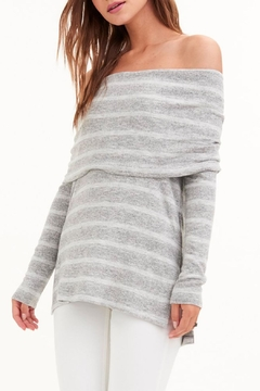 Shoptiques Product: Willa Off-The-Shoulder Sweater