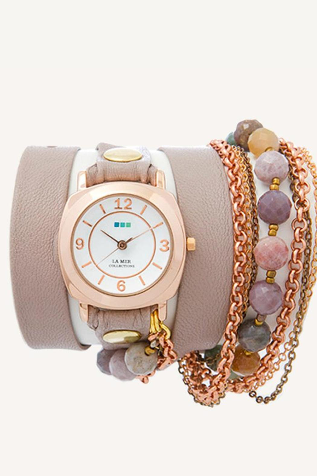LA MER Collections Brazil Beach Stones Watch - Main Image
